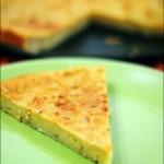 Cake/Flan aux pommes râpées
