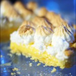 Tarte au citron meringuée