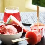 Glaçe a la pastèque, 3 recettes sans sorbetière